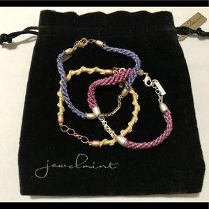 """Jewelmint Fashion Jewelry- """"Spring"""" Braid Bracelet"""